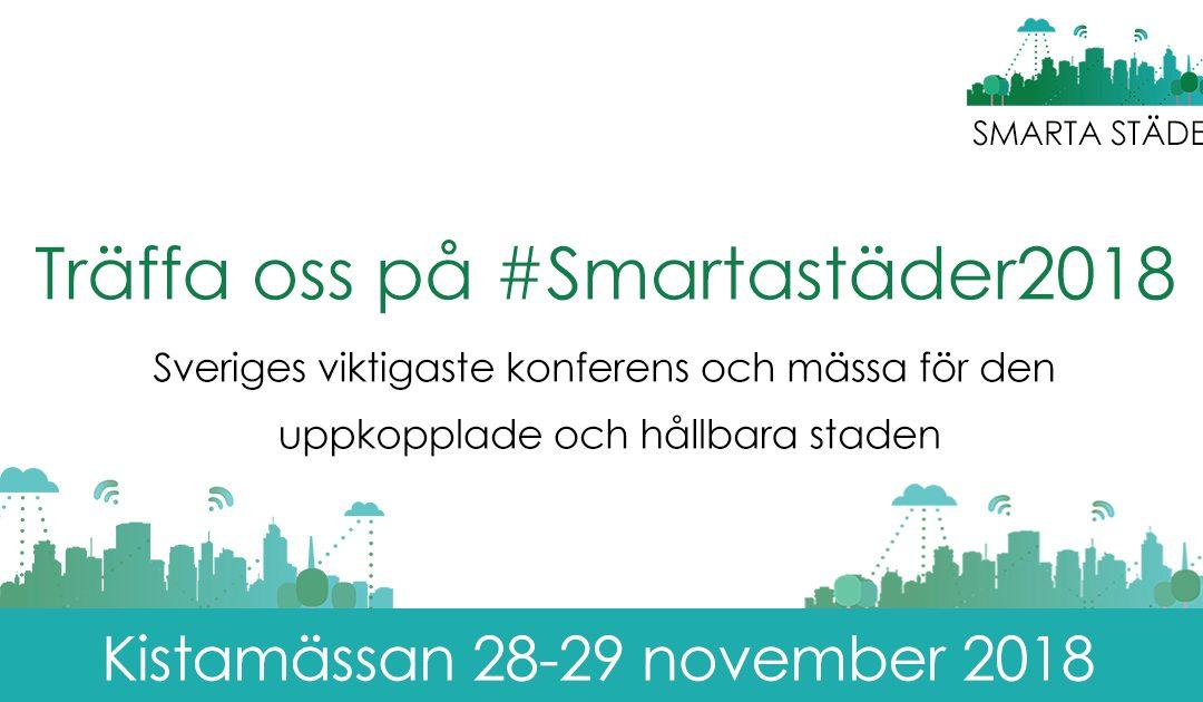 Träffas oss på Smarta Städer 2018!