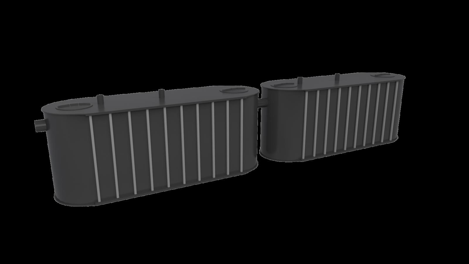 Matavfallssystem för fristående insallation
